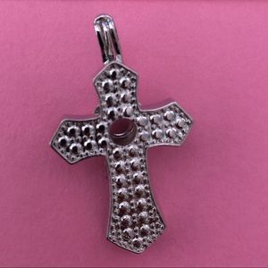 Jewelry - Cross pearl cage